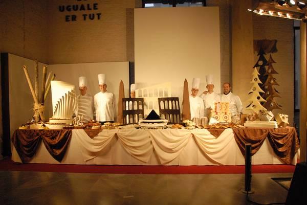 La Gata al Simposio dell'Accademia Maestri Pasticceri Italiani